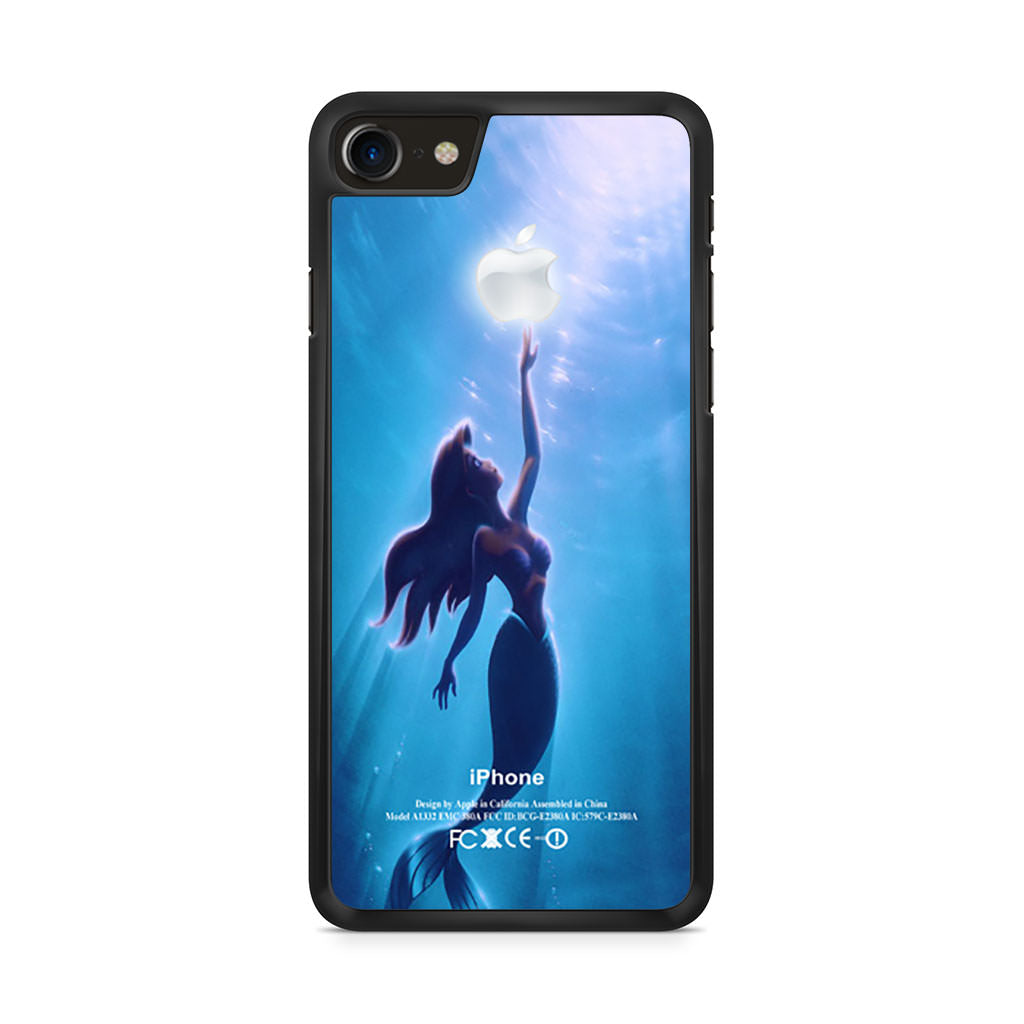 finest selection c5ed3 7409b The Little Mermaid Apple Ariel Mermaid iPhone 8 case