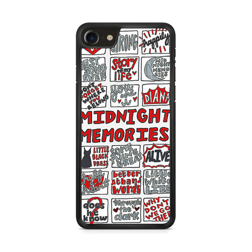 1D Midnight Memories Collage iPhone 8 case
