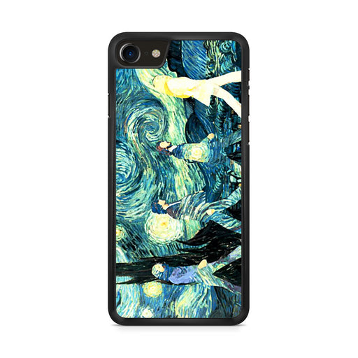 The Beatles Abbey Road Starry Night iPhone 8 case