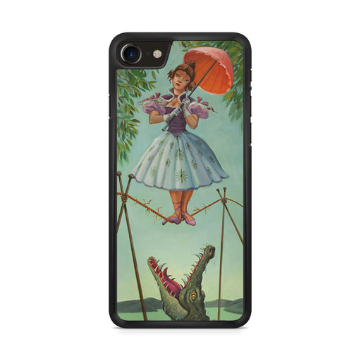 disney haunted mansion paintings iPhone 8 case