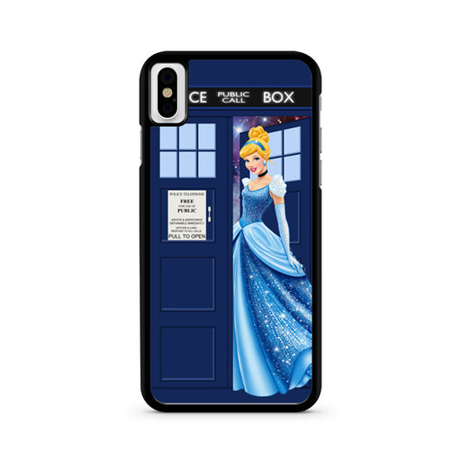Disney Princess Cinderella Tardis Police Box iPhone X case