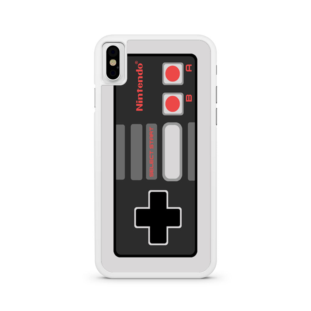 Retro Nintendo NES Controller iPhone X case