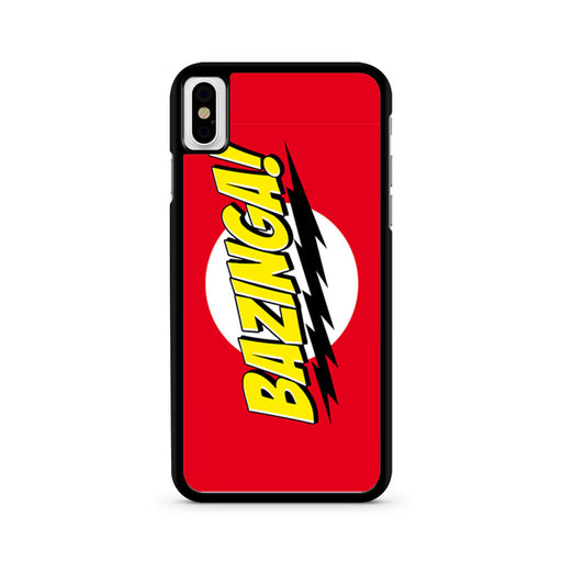 Bazinga iPhone X case