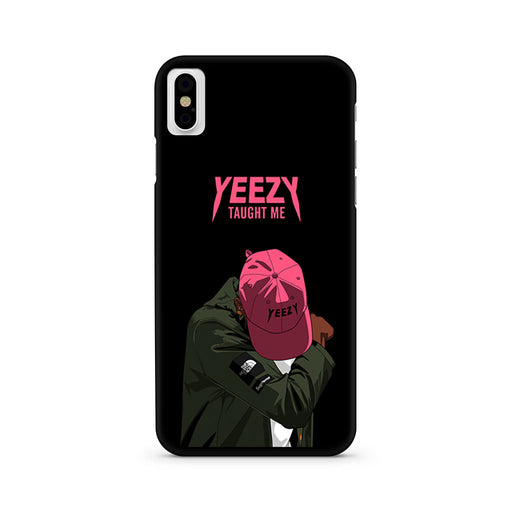 Yeezy Taught Me Supreme The North Face iPhone X case