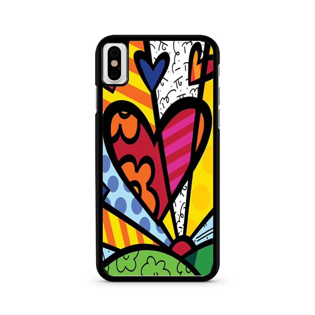 Romero Britto Pop iPhone X case