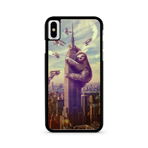Sloth, Slothzilla Building Empire iPhone X case