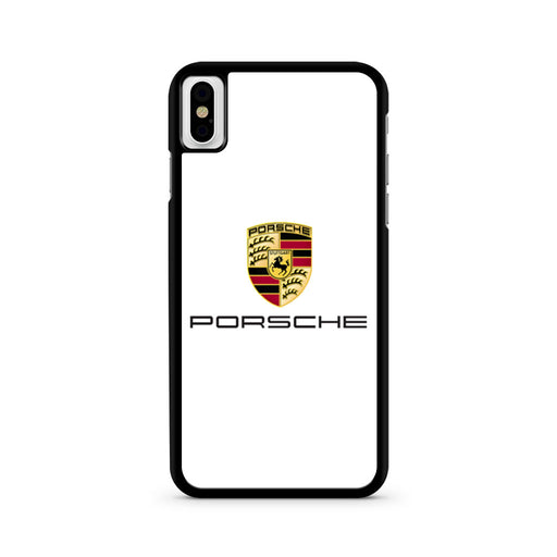 Porsche Logo iPhone X case