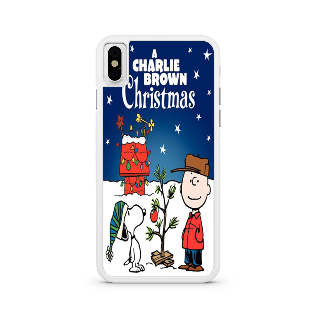 Christmas Iphone X Case.A Charlie Brown Christmas Iphone X Case