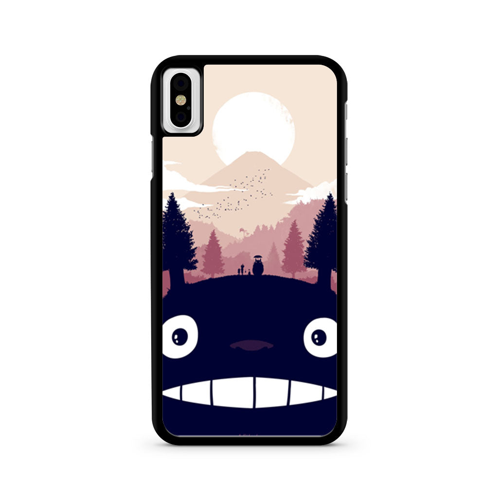 free shipping 31c77 eff20 My Neighbor Totoro iPhone X case