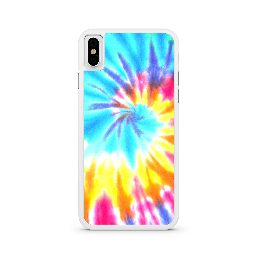 online store 6528c 2c7db Artsy Abstract Hipster Tie Dye iPhone X case