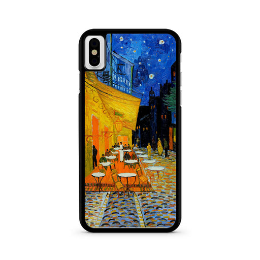 Van Gogh Cafe Terrace at Night iPhone X case