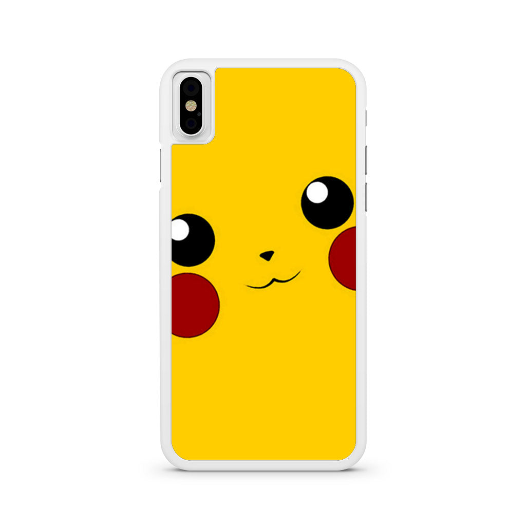 best sneakers ccb81 b85dd Pikachu Face iPhone X case