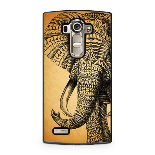 Zentangle Elephant LG G4 case