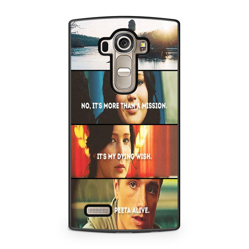 The Hunger Games Quotes Mockingjay LG G4 case