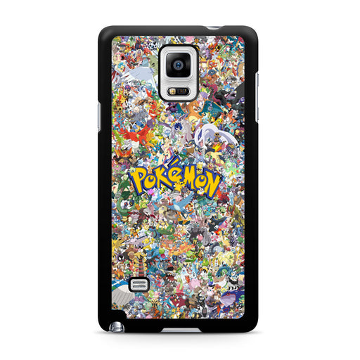 All Pokemon Considered Samsung Galaxy Note 4 case