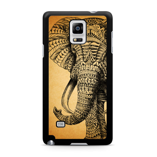 Zentangle Elephant Samsung Galaxy Note 4 case