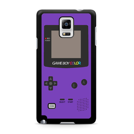 Gameboy Purple Color Samsung Galaxy Note 4 case