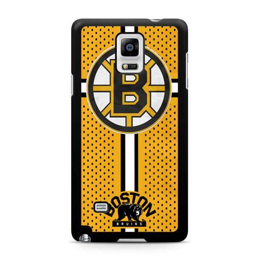Custom Boston Bruins Hockey Samsung Galaxy Note 4 case