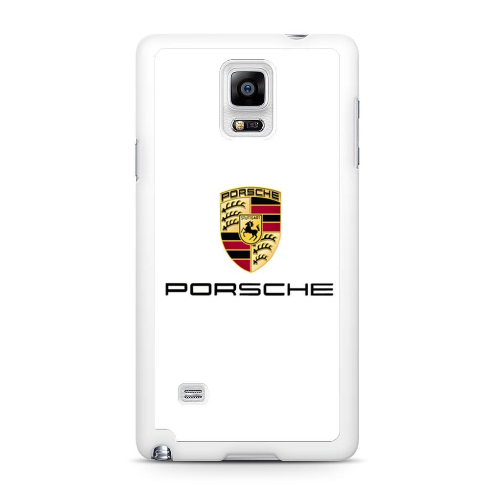 Porsche Logo Samsung Galaxy Note 4 case