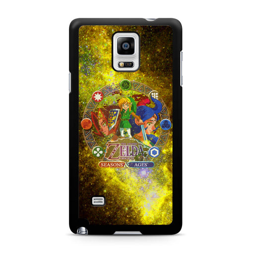 Zelda Seasons and Ages Samsung Galaxy Note 4 case