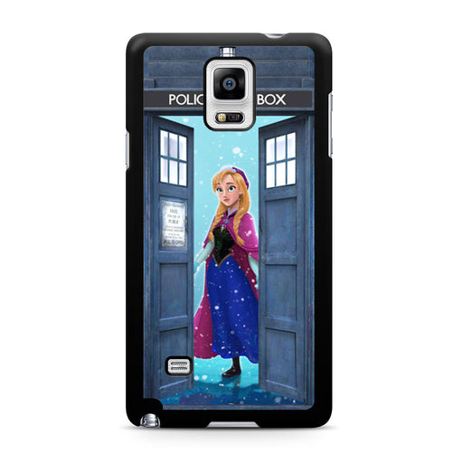 Tardis Disney Frozen Anna Samsung Galaxy Note 4 case