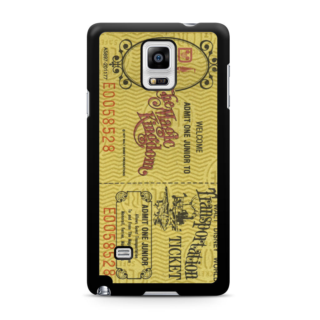 Transportation World Disney Vintage Disneyland Samsung Galaxy Note 4 Case