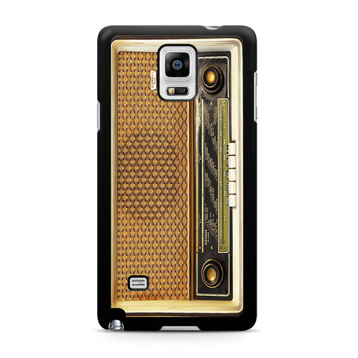 Retro Vintage Old Radio Samsung Galaxy Note 4 case