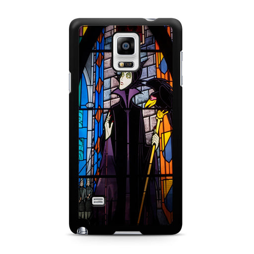 Maleficent Stained Glass Samsung Galaxy Note 4 case
