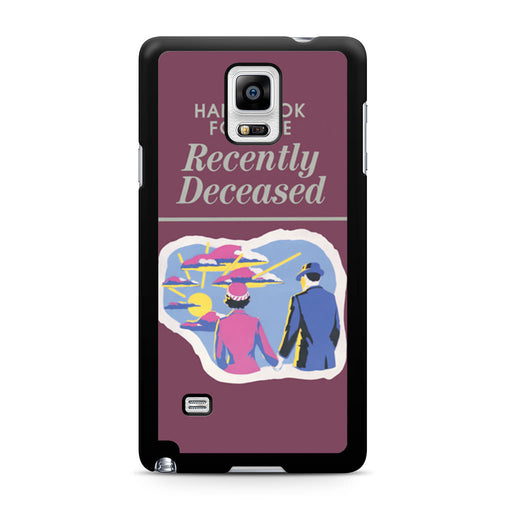 Handbook for The Recently Deceased Samsung Galaxy Note 4 case
