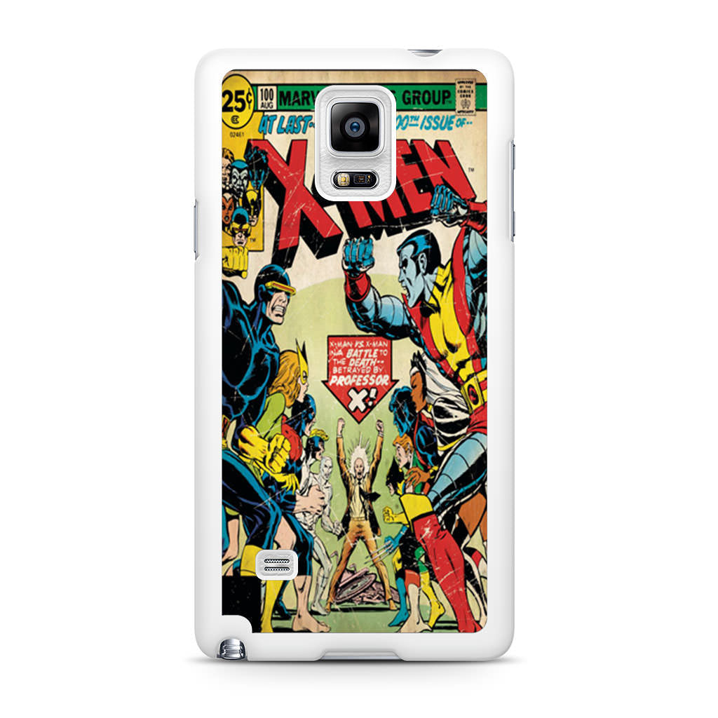 X-Men Retro Comic Book Samsung Galaxy Note 4 case