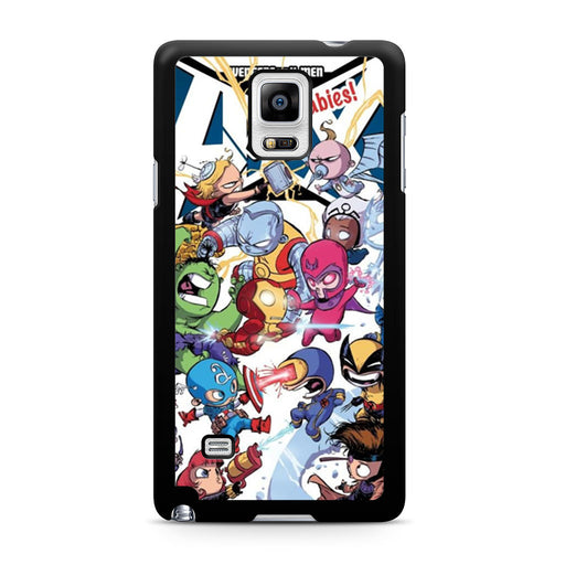 Young Marvel Avengers X-Men Babies Samsung Galaxy Note 4 case
