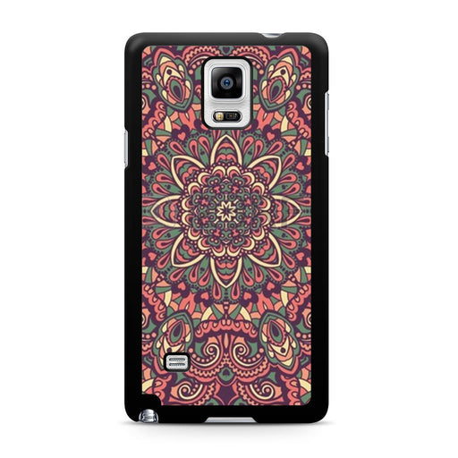 Seamless Mandala Flower Indian Bali Tribal Samsung Galaxy Note 4 case