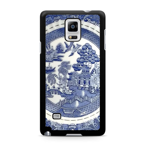 Blue Willow China Pattern Samsung Galaxy Note 4 case