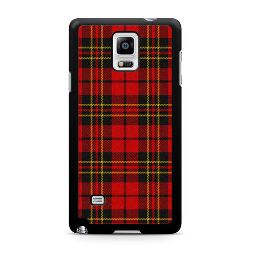 Red Tartan Plaid Samsung Galaxy Note 4 case