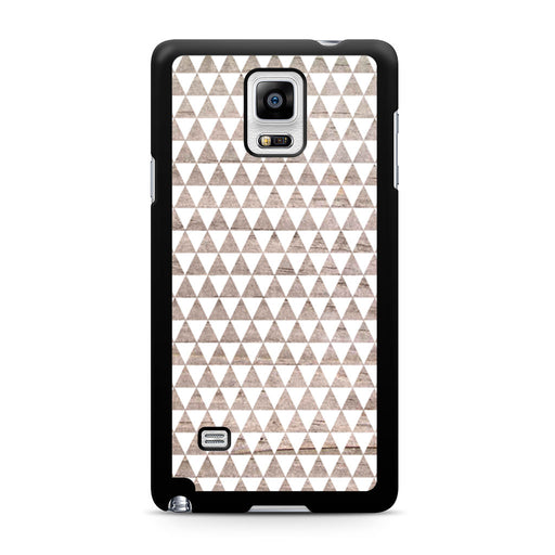 Wooden Triangle Geometric Pattern Samsung Galaxy Note 4 case