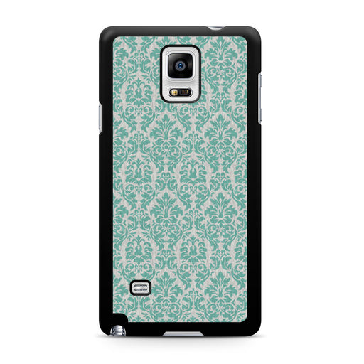 Teal Damask Samsung Galaxy Note 4 case