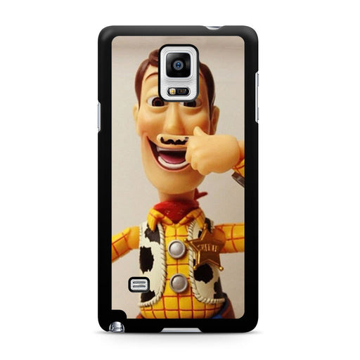 Woody Mustache Toy Story Samsung Galaxy Note 4 case