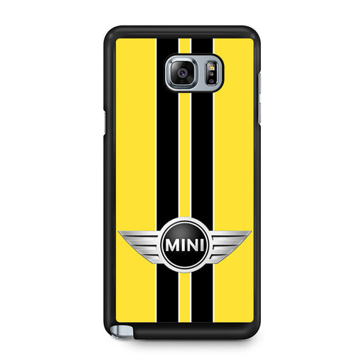 Mini Cooper Style Yellow Samsung Galaxy Note 5 case