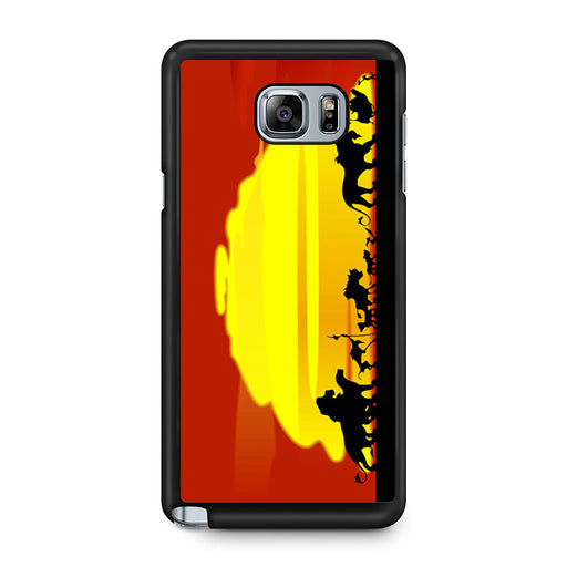 The Lion King Sunset Hakuna Matata Samsung Galaxy Note 5 case