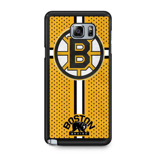 Custom Boston Bruins Hockey Samsung Galaxy Note 5 case