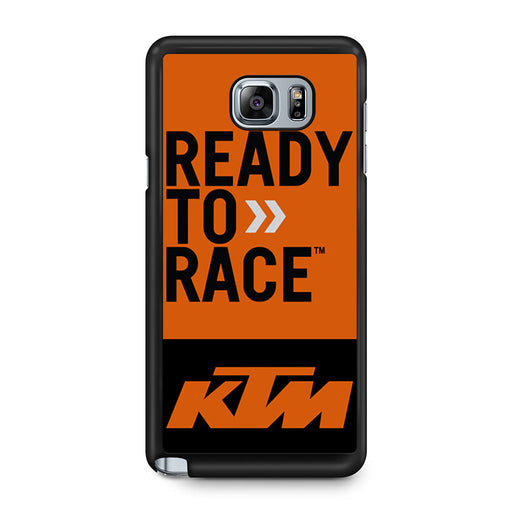 KTM Ready To Race Bike Dirt MX Samsung Galaxy Note 5 case