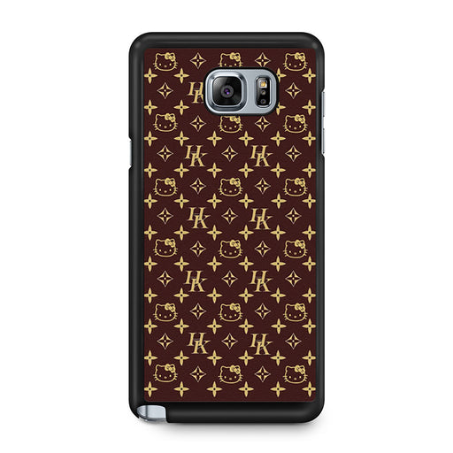Louis Vuitton Hello Kitty Samsung Galaxy Note 5 case