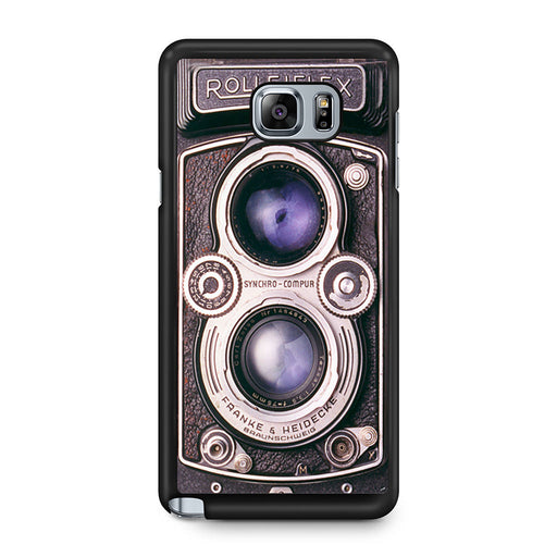 Vintage Rolleiflex camera Samsung Galaxy Note 5 case