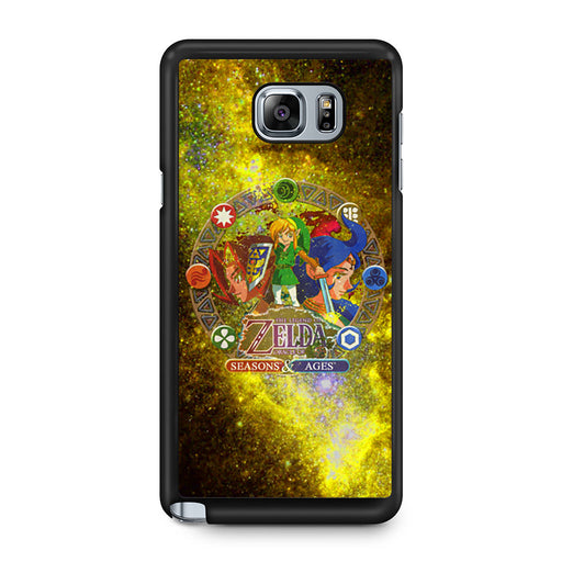 Zelda Seasons and Ages Samsung Galaxy Note 5 case