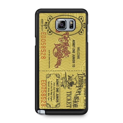 Transportation World Disney World Vintage Disneyland Samsung Galaxy Note 5 case