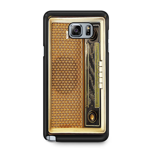 Retro Vintage Old Radio Samsung Galaxy Note 5 case