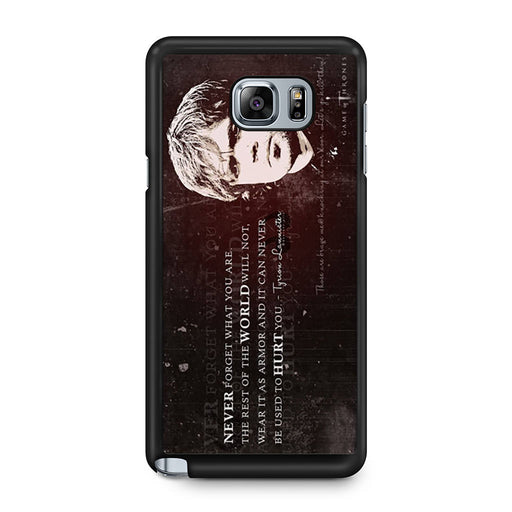 Tyrion Lannister Quote Samsung Galaxy Note 5 case