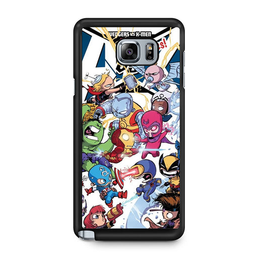 Young Marvel Avengers X-Men Babies Samsung Galaxy Note 5 case