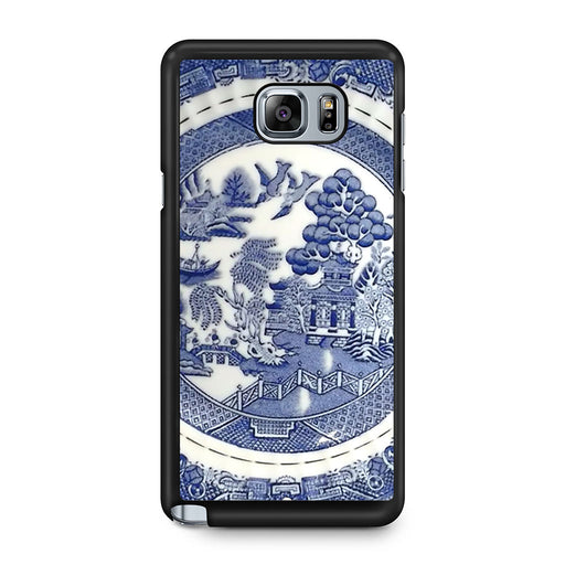 Blue Willow China Pattern Samsung Galaxy Note 5 case