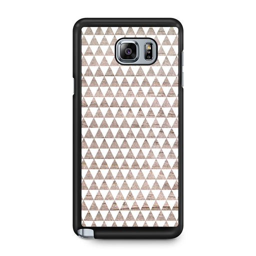 Wooden Triangle Geometric Pattern Samsung Galaxy Note 5 case